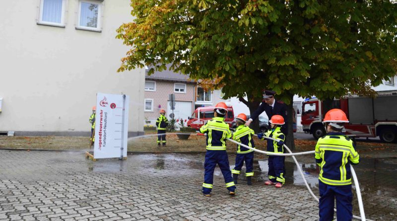 Abnahme der Kinderflamme und Jugendflamme in Karlsdorf-Neuthard