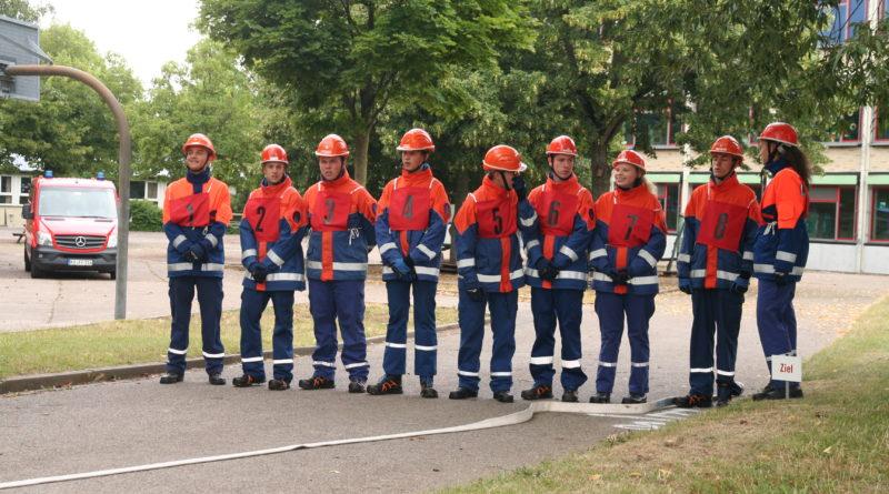 Abnahme der Jugendleistungsspange in Ettlingen